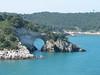 Limestone rocks (Gargano coast)