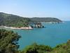Adriatic seecoast (NL: kust van de Gargano met de Adriatische zee)