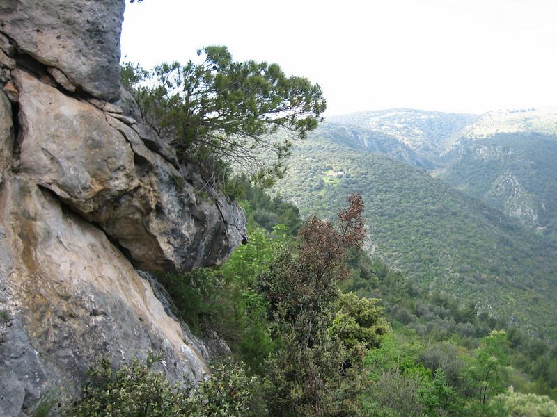 landscape of the Gargano National Park