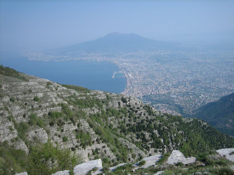 """Gulf of Napels with the vulcano """"Vesuvius"""""""