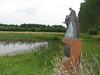 Statue for Victor Westhoff (Korenburgerveen NW of Winterswijk)