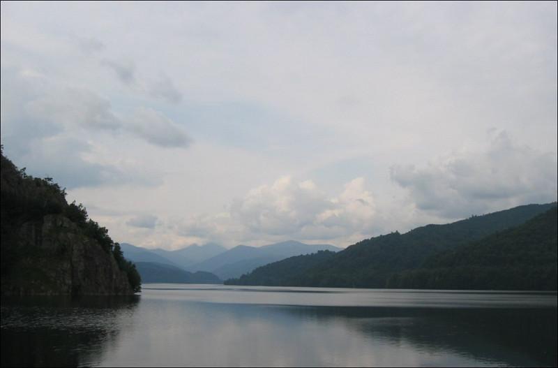 Lago Vidraru (Romania)