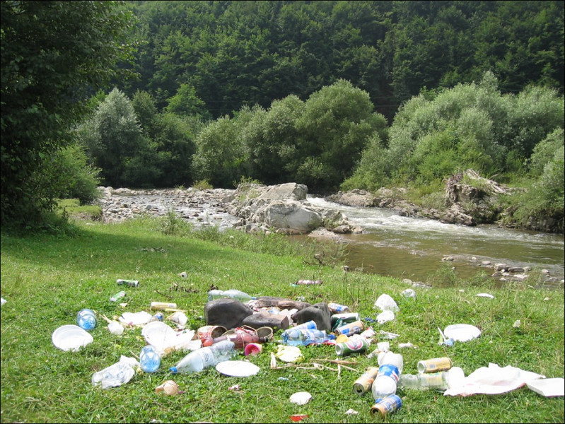pic-nic place, save the nature?? (Romania)