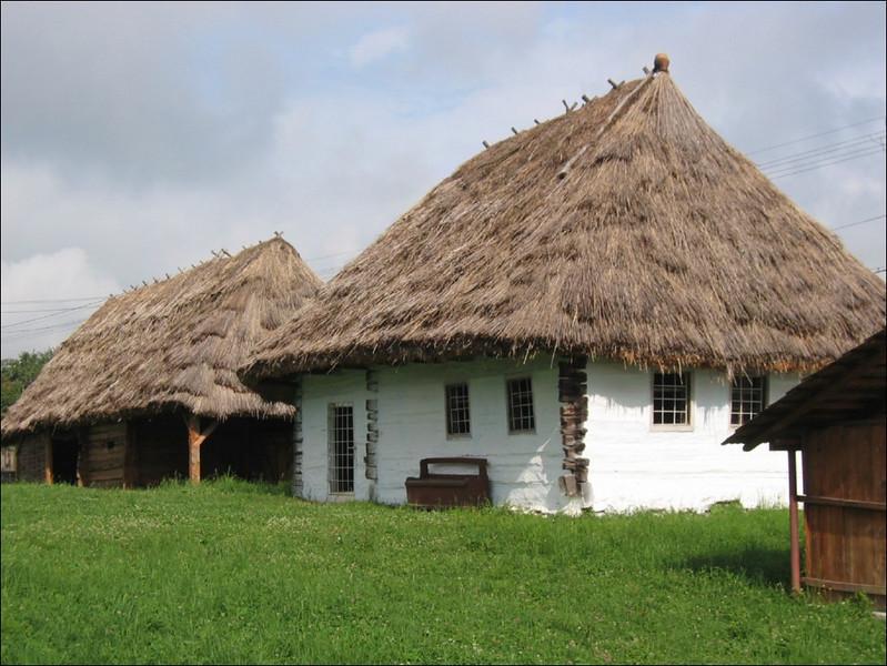 old traditional farm (Romania)