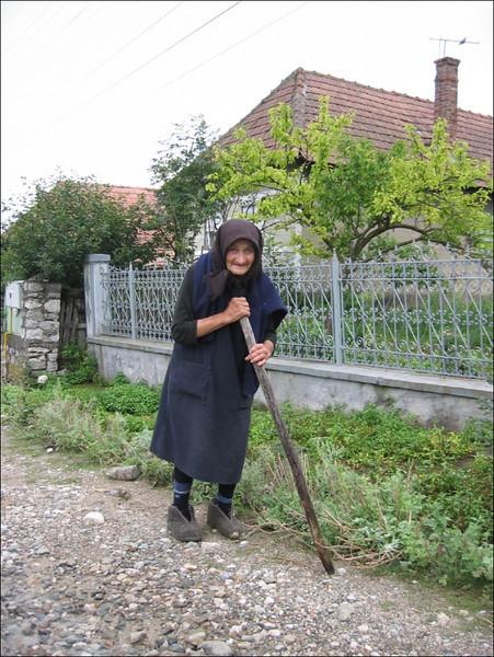 Old woman (Romania)