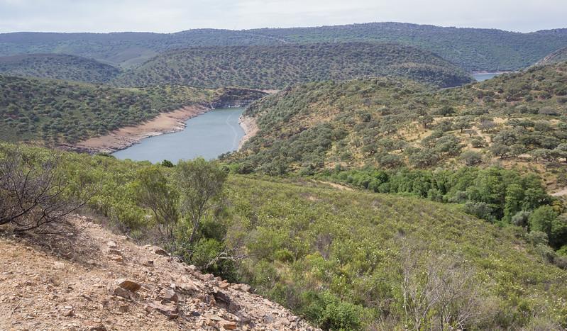 Aroyo river and Dehesa de las Corchuelas