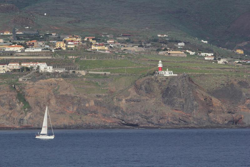 Faro de San Cristóbal near San Sebastian, island La Gomera