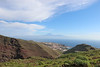 Views on San Sebastian from Loma del Carmello, in the background Tenerife, SW of San Sebastian (J)