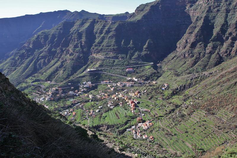 Barranco de Matanza between Valle Gran Rey and El Cercado (N)