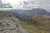 Serra de Tramuntana, view from Masanella 1365m