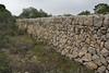 Typical Mallorca wall of limestone rocks, Song Gual