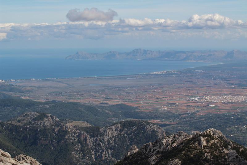 Parque Natural de S'Albufera, view from Masanella 1365m