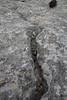Erosion pattern in limestone, Masanella 1365m