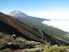 Pico del Teide 3718m.