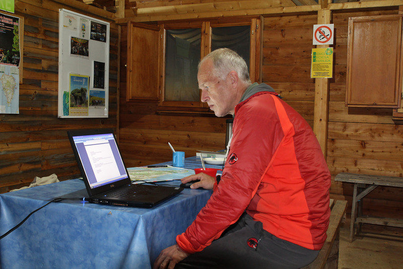 New Year's Eve, making the species-list, Camp Los Rosas 960m, Puntagorda