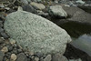 Light green vulcanic rock, Barranco de las Angustias, route PR LP 13.1 in the South of Parque Nacional de la Caldera de Taburiente