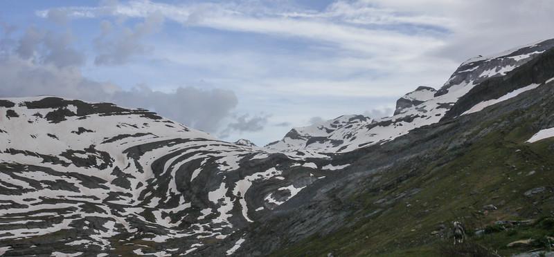 near Rifugio de Goriz, 2200m
