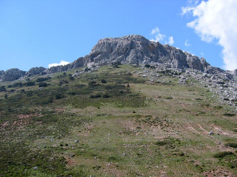 lime stone rocks, Andalucia, (habitats)