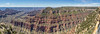 panorama from the North Rim