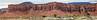 Moab sandstone erosion formations