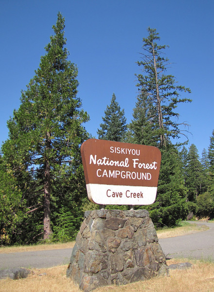 Cave Creek Campground near Oregon Caves National Monument