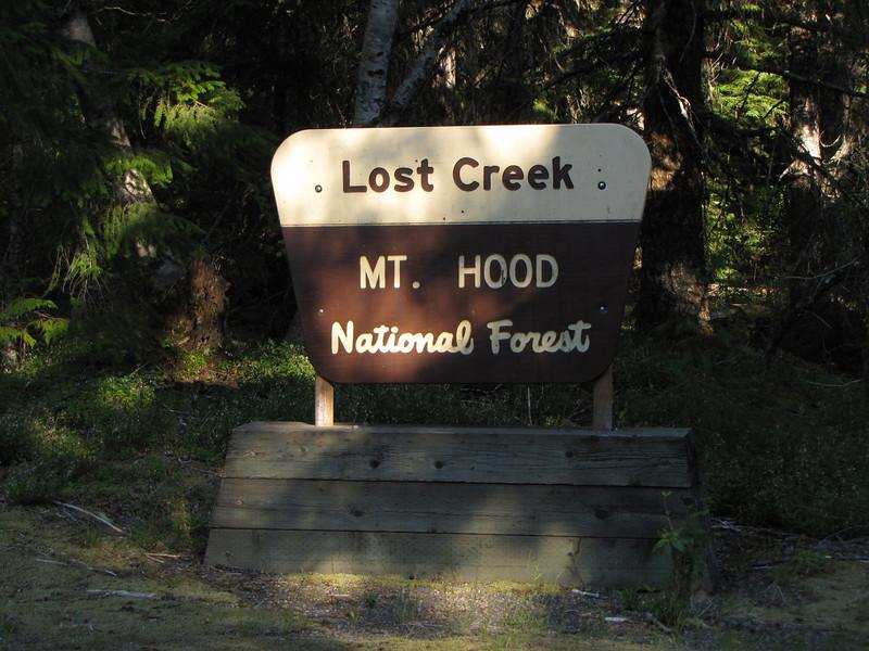 Lost Creek Campsite Mt. Hood