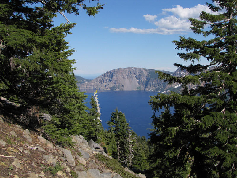 Crater Lake (Near the Watchman, Crater Lake National Park, Oregon)