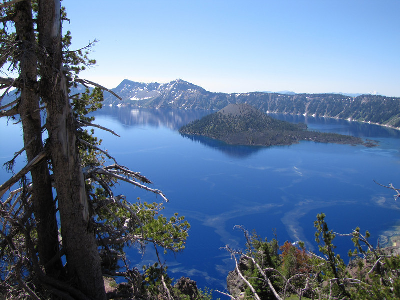 Wizard Island 2116m, Crater Lake National Park