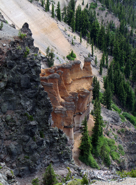 Pumice Castle, Crater Lake National Park