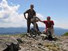 Marijn and Kees Jan on Mount Elijah 1929m Center: 42.0848°N 123.3712°W (Oregon Caves National Monument)