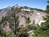 Watchman Peak 2442m. Crater Lake National Park