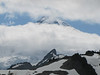 base and summit of Mount Baker 3286m, Washington (photographed from Ptarmigan Trail)
