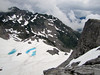 Mountain scenerey, Ptarmigan Trail, Mount Baker 3286m, Washington