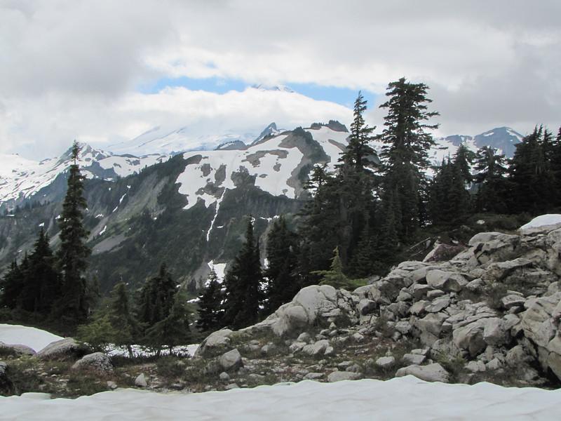 Mount Baker 3286m, Washington (photographed from Ptarmigan Trail)