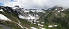 View to the Ptarmigan Trail Ridge [left], Mount Baker, Washington