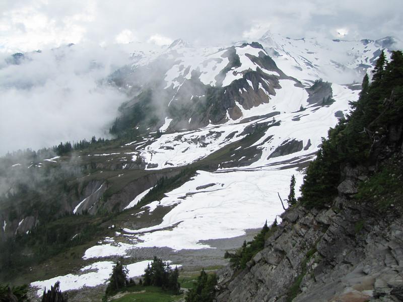 Mountain scenerey, Ptarmigan Trail, Mount Baker 3286m, Washington