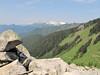 ridge (between Hidden Lake Trailhead and Hidden Lake, North Cascades National Park, Washington)