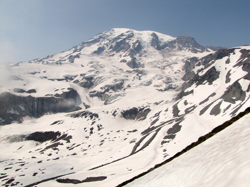 Mount Rainier 4342m, Mount Rainier NP, Skyline Trail