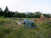 camp place near Mineral Lake, road 7, WA