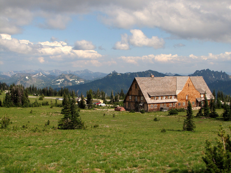 Sunrise Visitor Center (Mount Rainier National Park, Washington)