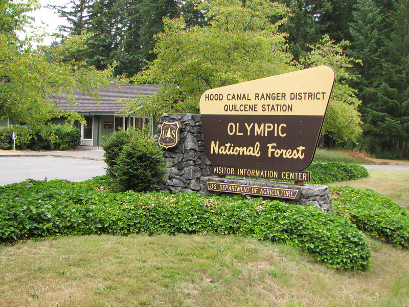 Visitor centre of Olympic National Park (Quilcene)