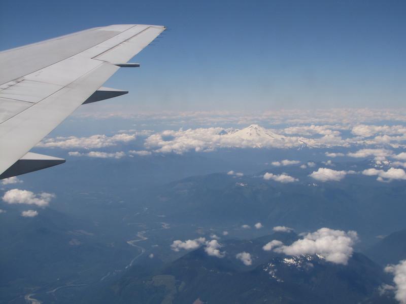 Mount Baker 3286m, Washington, USA, Flight KL6023 A'dam - Seattle