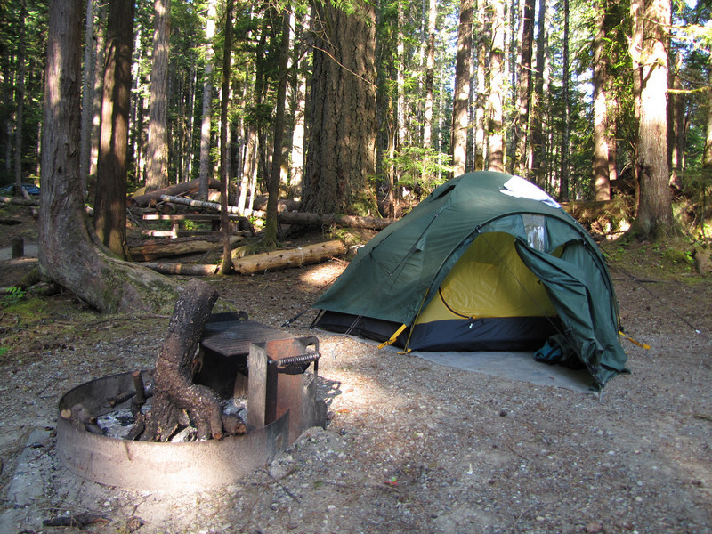 campground Heart of the Hills
