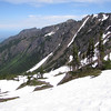 view at Klahane Ridge (Switchback Trail, Olympic Mountains)