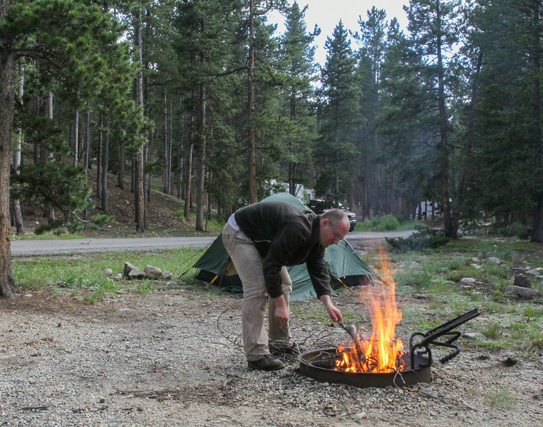 Campground, S of Red Lodge, along 212