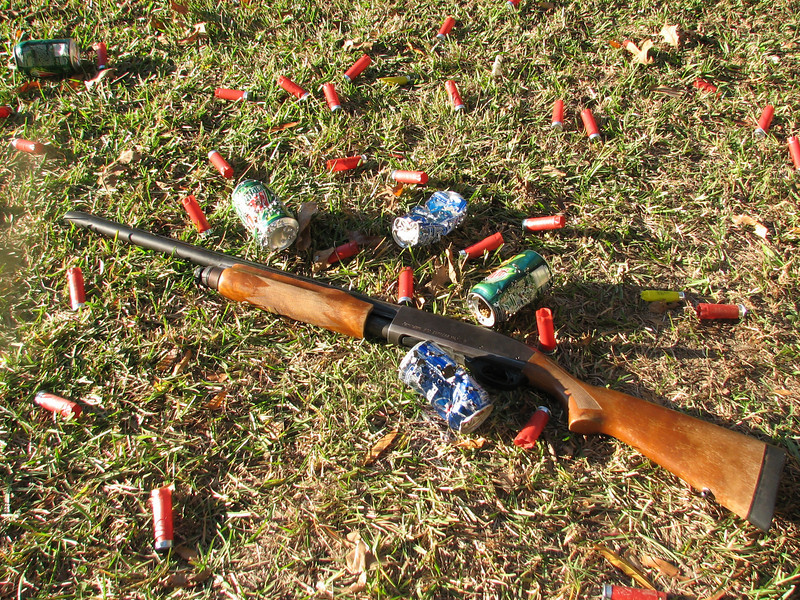 shooting with live ammunition (Starkville MS Autumn 2008)