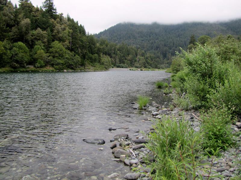 Smith River (near Howland Hill Road, Jedediah Smith SP, California)