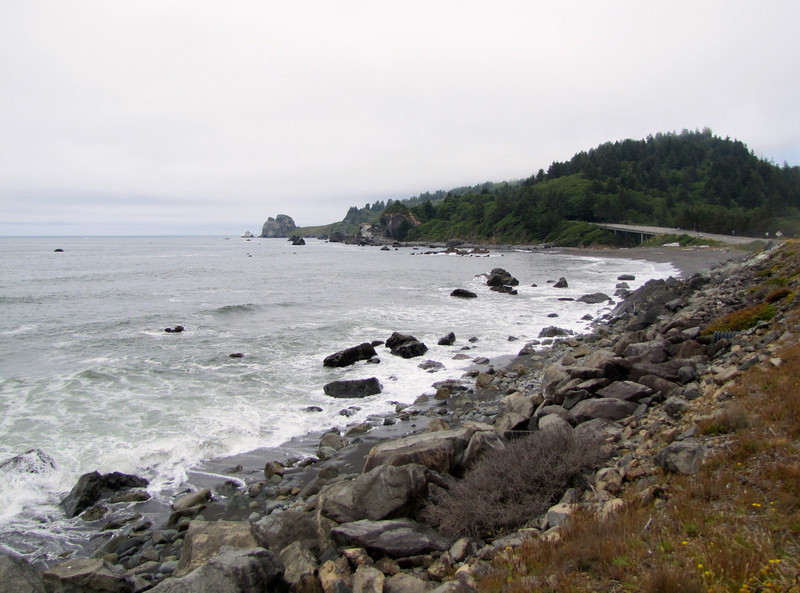 Pacific Ocean, (South of Crescent City, California)
