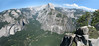 Half Dome 2695m. and El Capitan (Yosemite N.P. Siera Nevada)