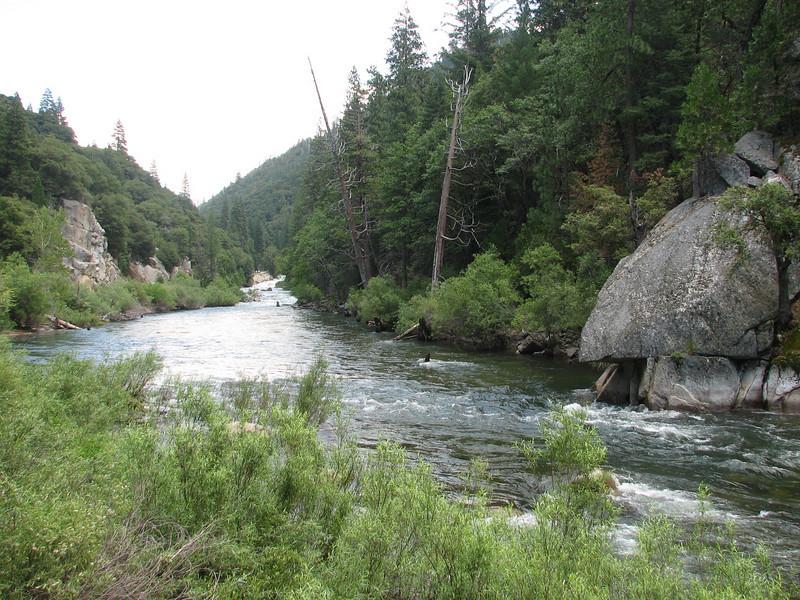Merced River (Yosemite N.P. Siera Nevada)